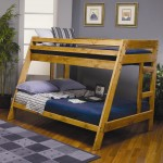 Wrangle Hill Twin Over Full Bunk Bed with Built-In Ladder