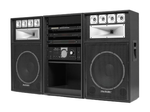 Tech Pro Rack Stereo SYS81