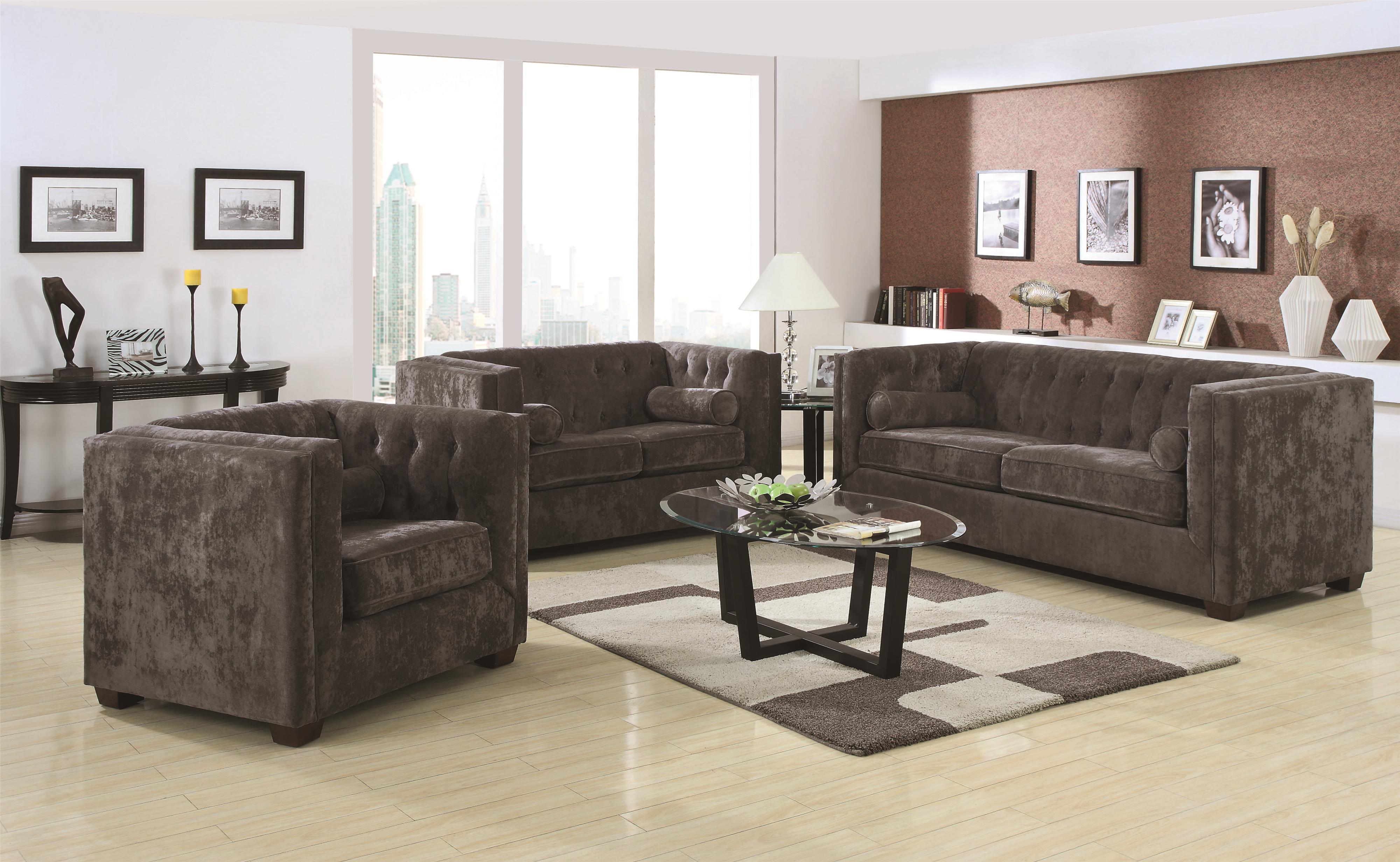 Coaster alexis sofa loveseat aim rental for Coaster co of america furniture
