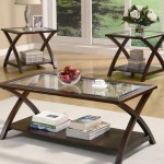 Coaster 3 Piece Occasional Table Sets