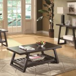 Coaster Occasional Casual 3 PC Table Set