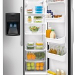 Crosley Side By Side Refrigerators Stainless Steel