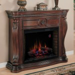 Lexington Electric Fireplace Mantel in Empire Cherry
