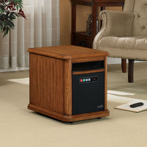 Williams 1,000 Sq Ft Portable Infrared Heater in Oak Finish - 10HM4126-O107