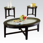 Acme Furniture Kort 3pc. Table Set