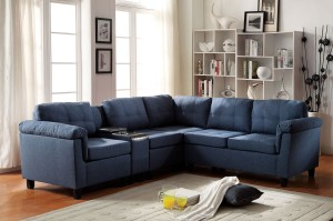 Acme Furniture Cleavon Sectional In Two Colors Aim Rental
