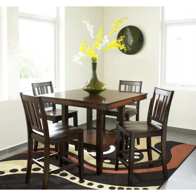 Urban Style Crescent City 5pc Dinette Counter Height