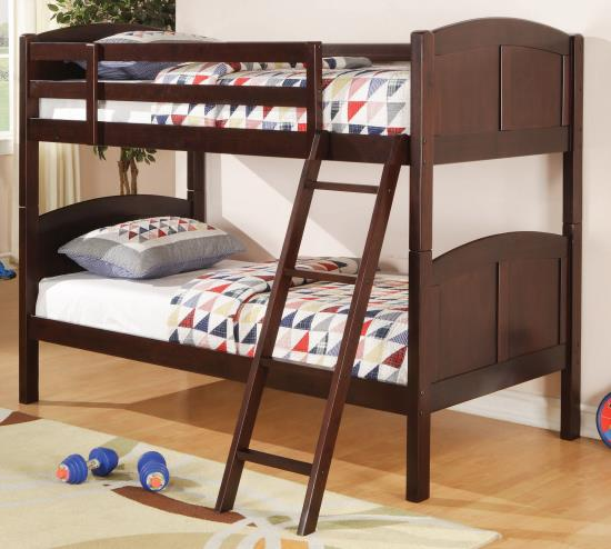 Coaster Furniture Parker Twin Twin Bunk Bed 460213