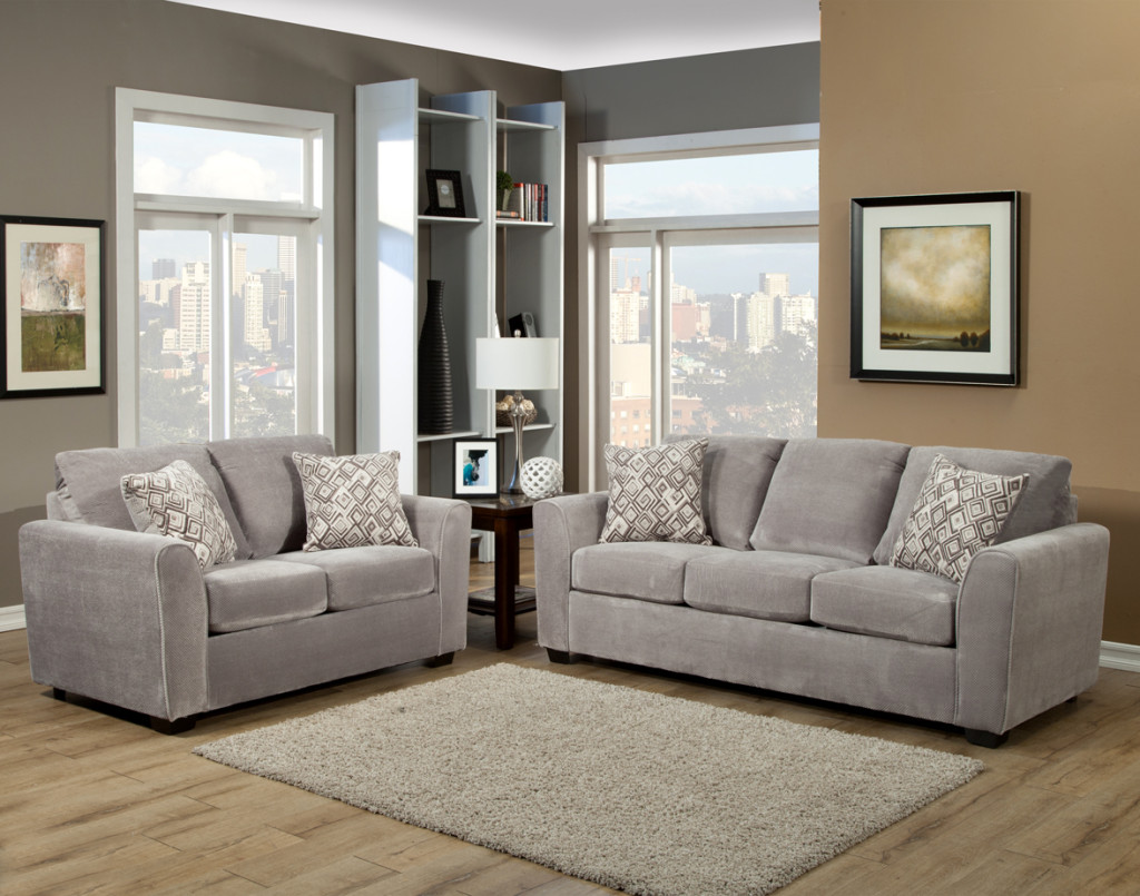 Comfort Industries Liberty Sofa Amp Loveseat In Three Colors
